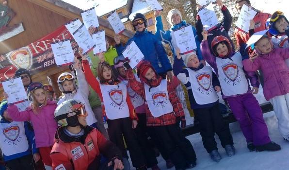 Tečaji alpskega smučanja in deskanja na snegu